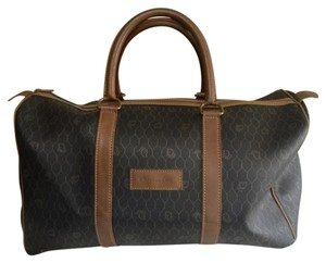 Dior Brown Travel Bag