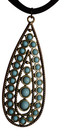 Other New Faux turquoise necklace