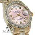 Rolex Rolex Presidential Day Date Vintage Dial Diamond 18 KT Yellow Gold Image 1