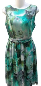 Isaac Mizrahi short dress Floral on Tradesy