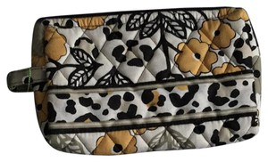 Vera Bradley Wristlet in Black, yellow