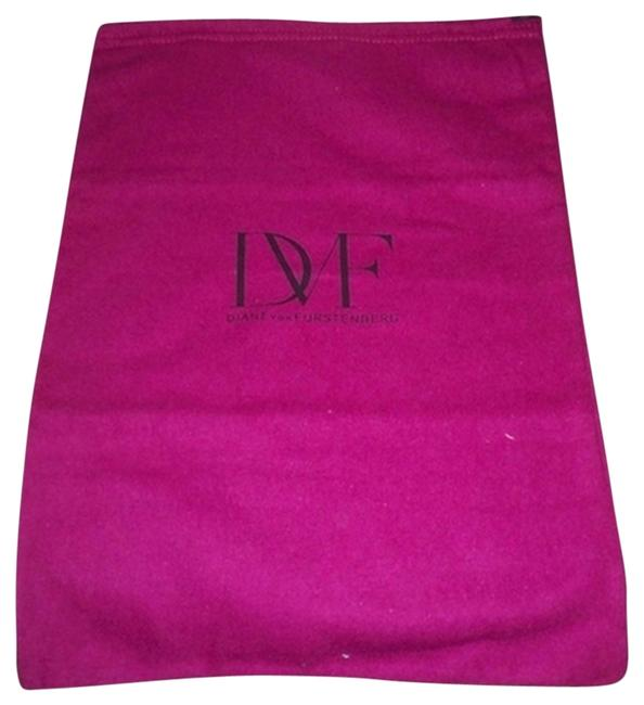 Item - Hot Pink Flannel with Black Logo Excellent Sleeper Dust Cover Bag For Purse Or Shoes Fits Shoes Or Purse 10x 14
