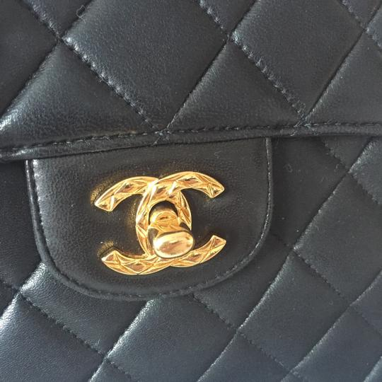 Chanel Camera Tassel Charm Quilted Lamb Skin Vintage Tote Flap Cross Body Bag Image 1