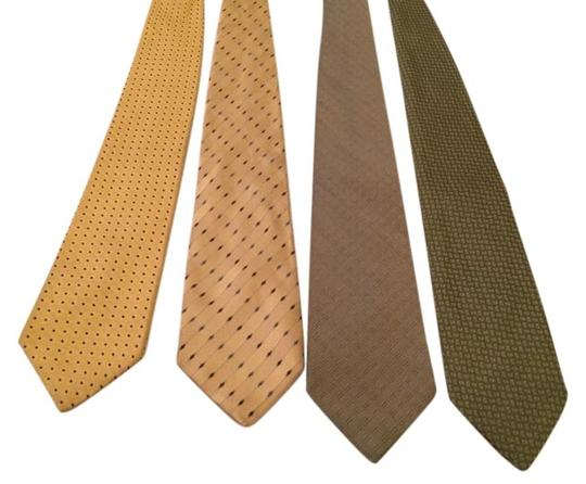 Calvin Klein Lot Of Yellow & Green Ties