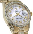 Rolex Rolex Presidential Day Date String Dial Diamond 18 KT Yellow Gold Image 0
