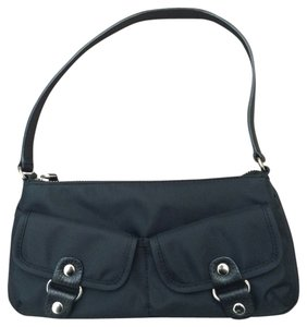 Banana Republic Nylon Zipper Small Shoulder Bag