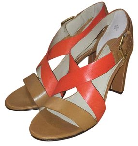 Boden Tan/Coral Sandals
