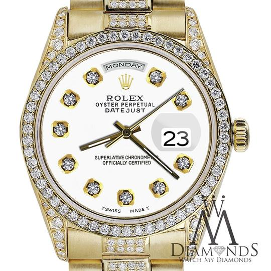Rolex Rolex Presidential Day Date Tone Dial Diamond 18 KT Yellow Gold Image 1