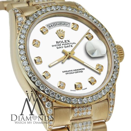 Rolex Rolex Presidential Day Date Tone Dial Diamond 18 KT Yellow Gold Image 2