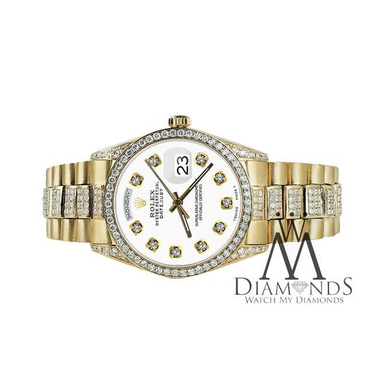 Rolex Rolex Presidential Day Date Tone Dial Diamond 18 KT Yellow Gold Image 3