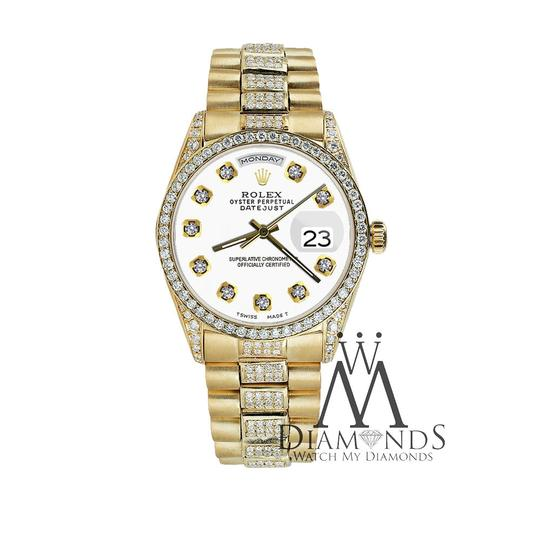 Rolex Rolex Presidential Day Date Tone Dial Diamond 18 KT Yellow Gold Image 4