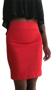 Banana Republic Skirt Red