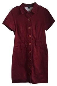 Marc by Marc Jacobs short dress Brick Red on Tradesy