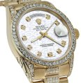 Rolex Rolex Presidential Day Date Jubilee Dial Diamond 18 KT Yellow Gold Image 0