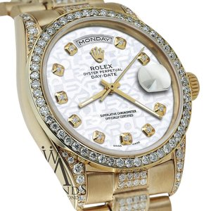 Rolex Rolex Presidential Day Date Jubilee Dial Diamond 18 KT Yellow Gold