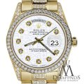 Rolex Rolex Presidential Day Date Jubilee Dial Diamond 18 KT Yellow Gold Image 1