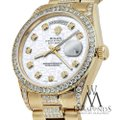 Rolex Rolex Presidential Day Date Jubilee Dial Diamond 18 KT Yellow Gold Image 2