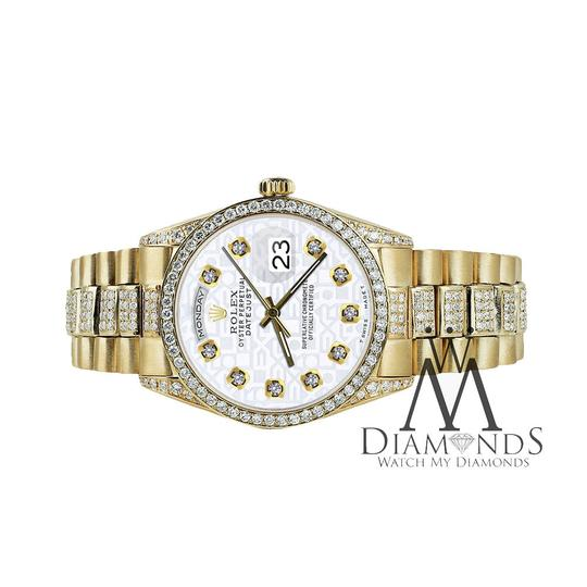Rolex Rolex Presidential Day Date Jubilee Dial Diamond 18 KT Yellow Gold Image 3