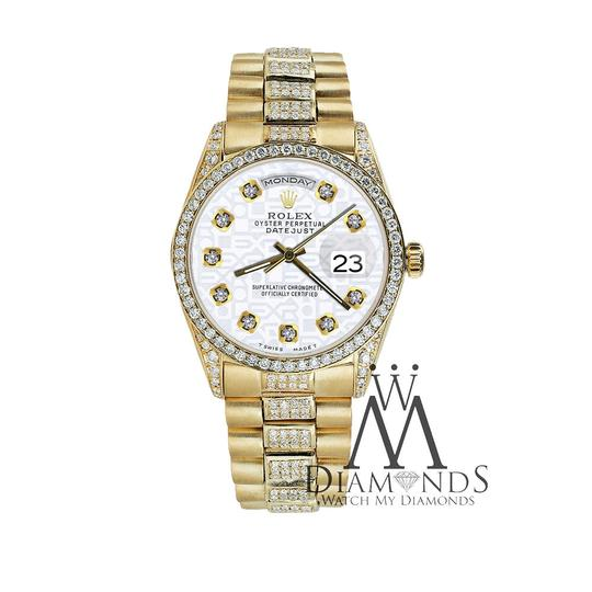 Rolex Rolex Presidential Day Date Jubilee Dial Diamond 18 KT Yellow Gold Image 4