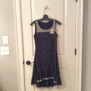 Mystree short dress Navy Blue on Tradesy