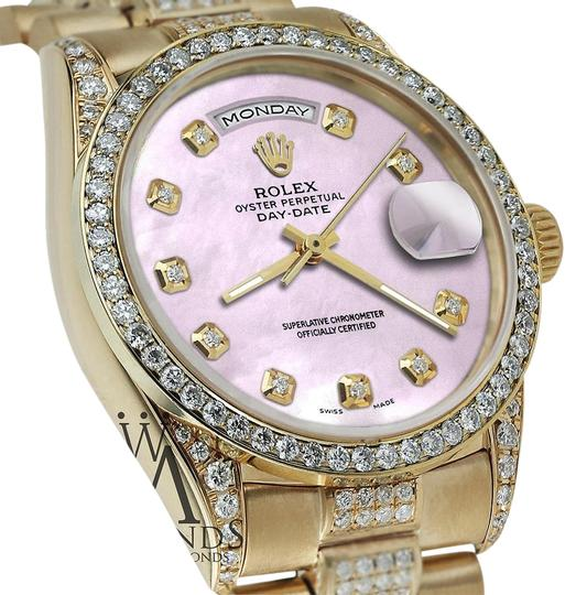 Preload https://img-static.tradesy.com/item/16061491/rolex-presidential-day-date-tone-pink-dial-diamond-18-kt-yellow-gold-watch-0-1-540-540.jpg