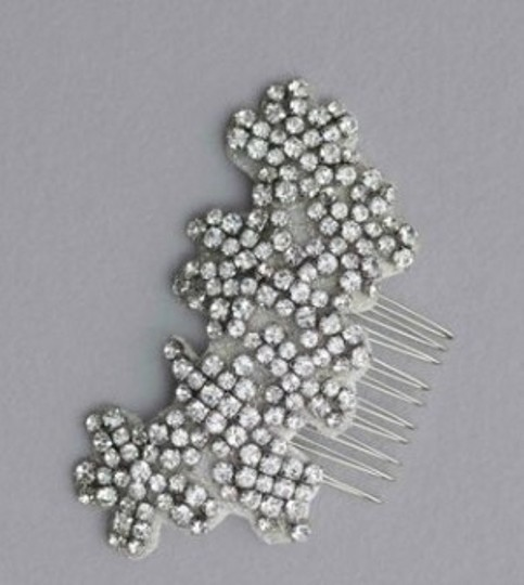 Vera Wang Crystal White By Vw370003 Inspired Rhinestone Comb Hair Accessory