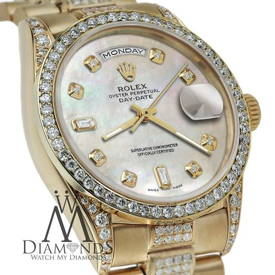 Rolex Rolex Yellow Gold Presidential Day Date Tone Dial Diamond 18 KT Gold Image 1