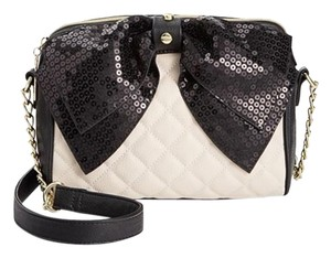 Betsey Johnson Bow Bone Cross Body Bag