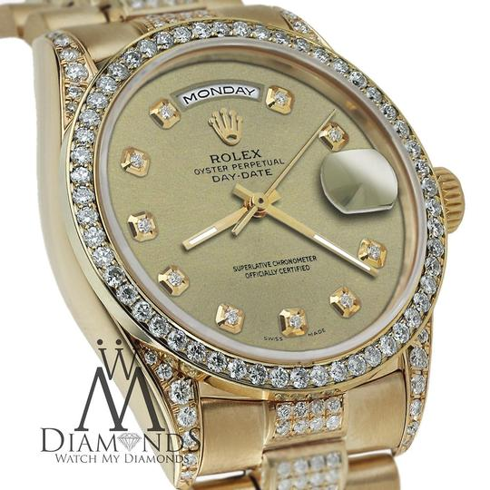 Rolex Rolex Yellow Gold Presidential Day Date Champagne Diamond 18 KT Gold Image 1