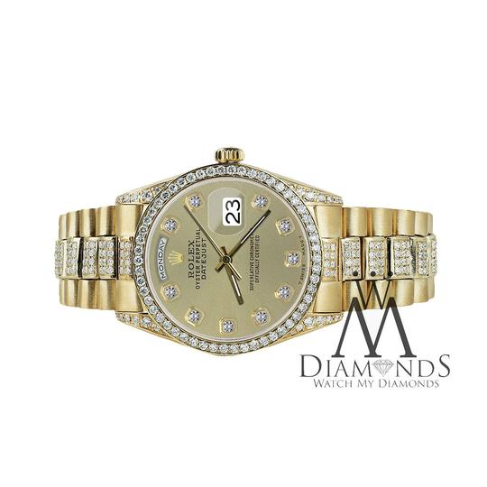Rolex Rolex Yellow Gold Presidential Day Date Champagne Diamond 18 KT Gold Image 3