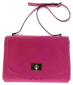 Kate Spade Montford Park Straw Angelica Satchel Cross Body Bag