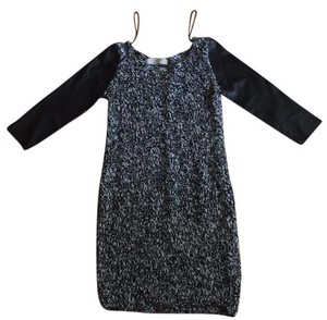 Zara short dress Black / white on Tradesy