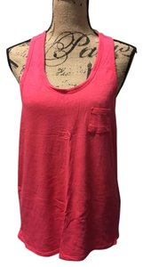 Moda International Activewear Loose Fitting Top Coral