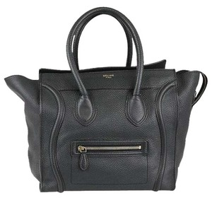 Céline Purse Mini Tote in Anthracite