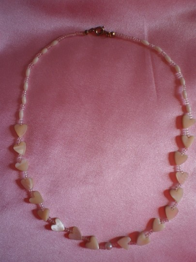 Other Pearly hearts necklace