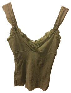 Only Hearts Camisole Lace Empire Waist Top Olive