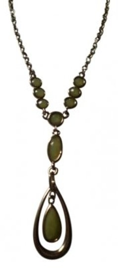 Preload https://item4.tradesy.com/images/gold-teardrop-wseafoam-green-stones-necklace-160628-0-0.jpg?width=440&height=440