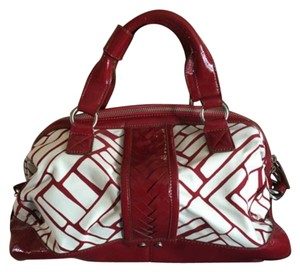 Cole Haan Satchel in Red/White