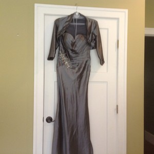 Charcoal With Bling Area Dress