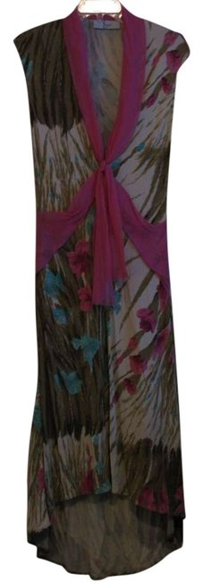 Item - Multi-color Long Casual Maxi Dress Size 4 (S)