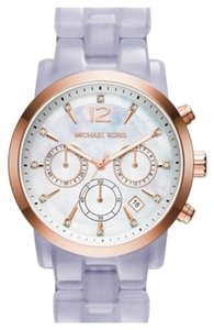 Michael Kors MK6312 AUTHENTIC MICHAEL KORS WATCH CHRONOGRAPH AUDRINA LAVANDER 42MM SALE