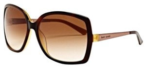 Kate Spade Kate Spade Oversized Tortoise Brown Darryl Sunglasses