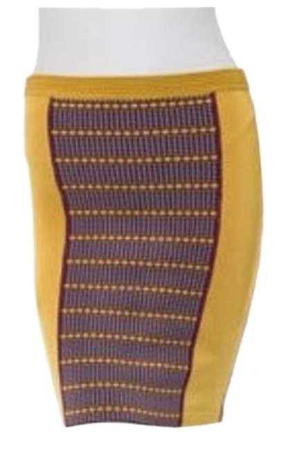 Preload https://img-static.tradesy.com/item/16063408/zac-posen-mustard-yellow-z-spoke-bandage-skirt-size-8-m-29-30-0-1-650-650.jpg