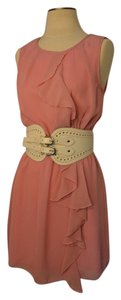 Romeo & Juliet Couture short dress Dusty rose on Tradesy