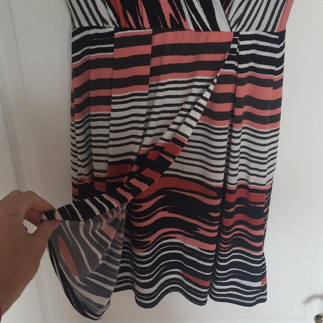 Max and Cleo short dress Coral, black and white on Tradesy Image 4