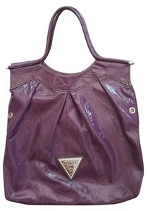 Guess Leather Tote in Purple