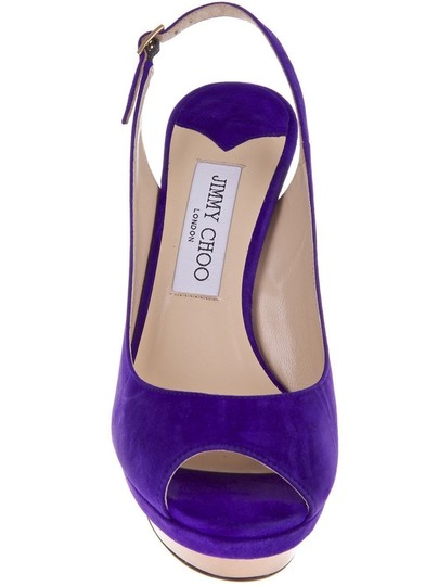 Jimmy Choo PURPLE Pumps Image 1
