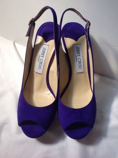 Jimmy Choo PURPLE Pumps Image 2