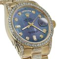 Rolex Rolex Presidential 36MM Day Date Tahitian Diamond 18 KT Yellow Gold Image 0