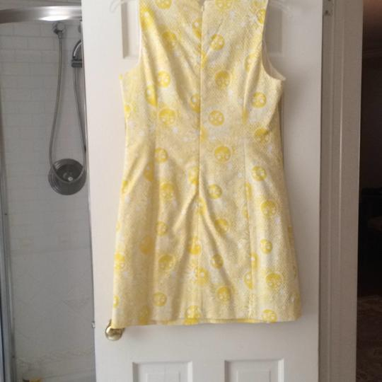 Lilly Pulitzer Yellow And White Dress - 60% Off Retail hot sale